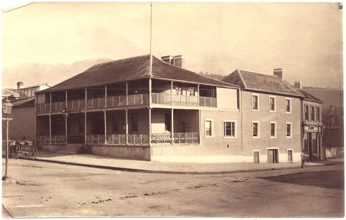 The Ship Inn, Hobart 1860s