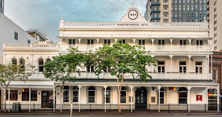 The Transcontinental Hotel, Brisbane
