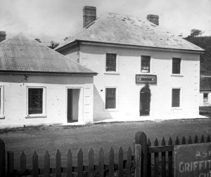 The Half Way House, Antill Ponds, Tasmania 1922.