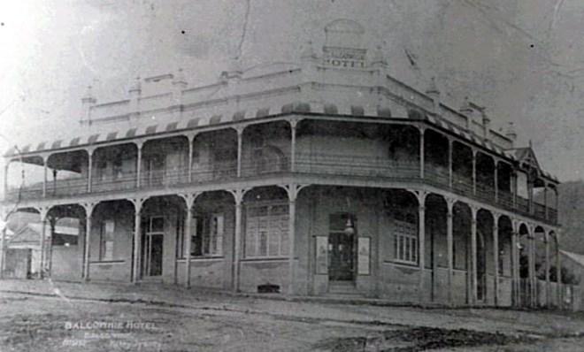 Balgownie Hotel early last century
