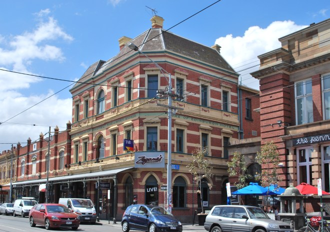 Duke of Edinburgh Hotel at Brunswick, Victoria today.