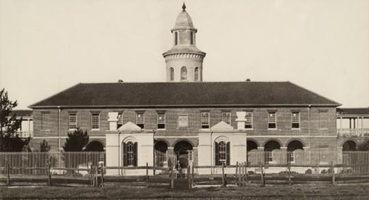The Liverpool Asylum, where Bill Price stayed for a short time before his death.