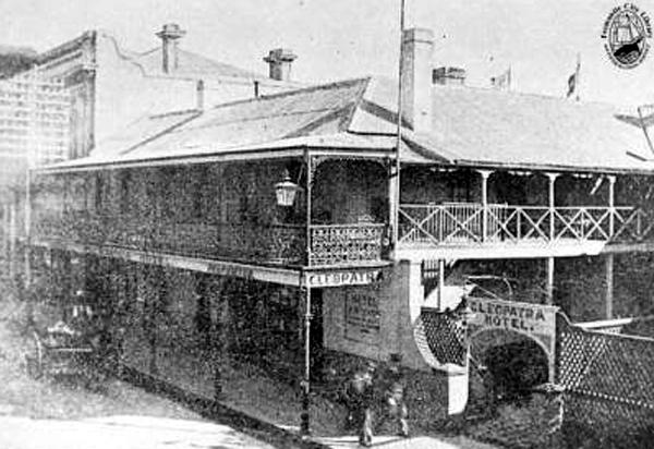The Cleopatra Hotel, Fremantle, Western Australia.
