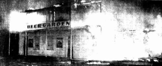 commercial hotel albion park fire