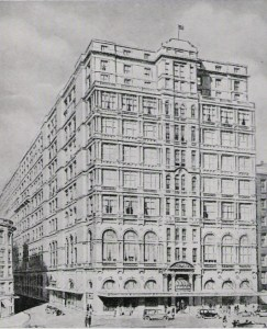 Hotel Australia in 1932. Duncan's first managed the hotel on his arrival in Sydney.