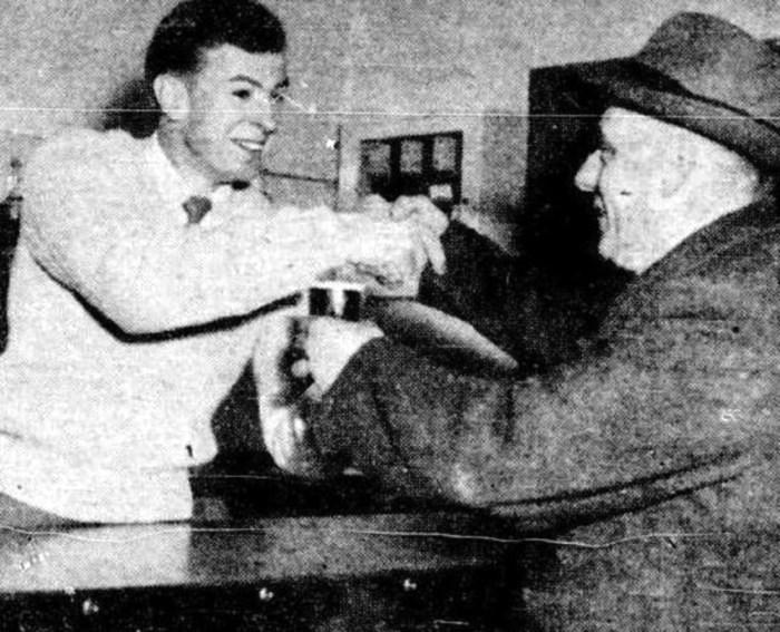 essendon hotel Victoria john coleman Joe evans 1954
