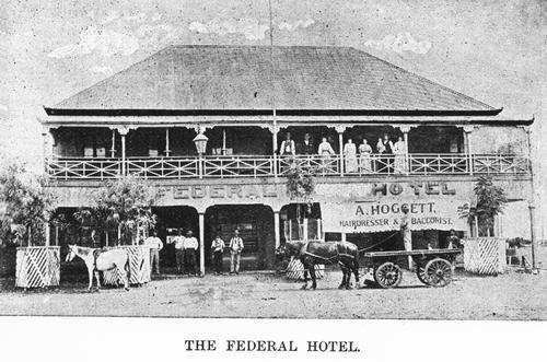Federal Hotel Longreach 1898