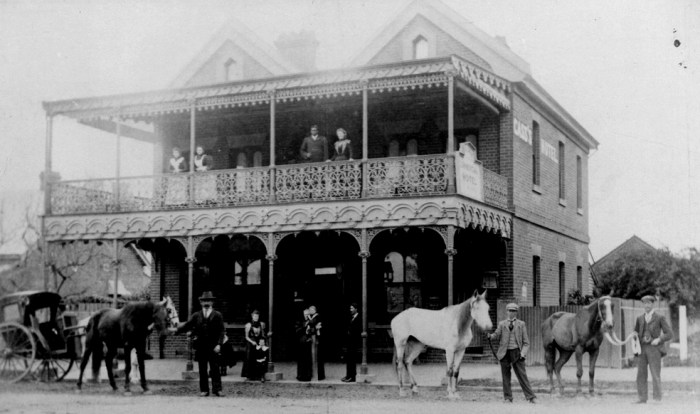cass railway commercial hotel albury