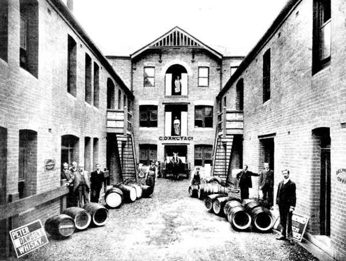 darcys wine spirit georges street sydney 1905