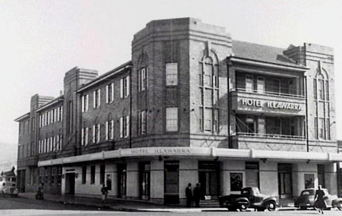 hotel illawarra 1940s