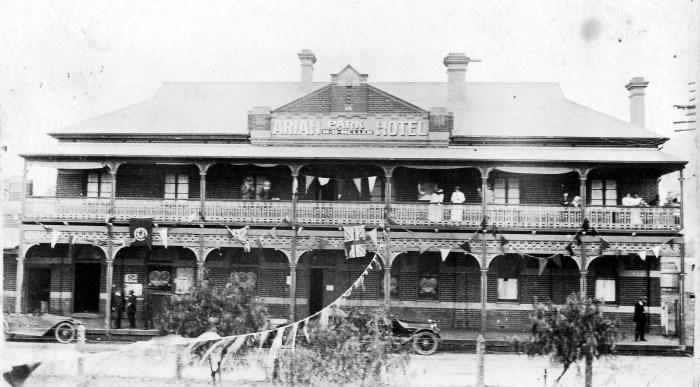 ariah park hotel 1916