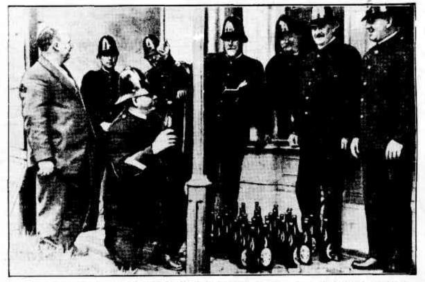 police seize liquor
