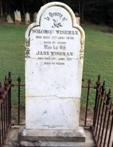 solomon wiseman gravestone