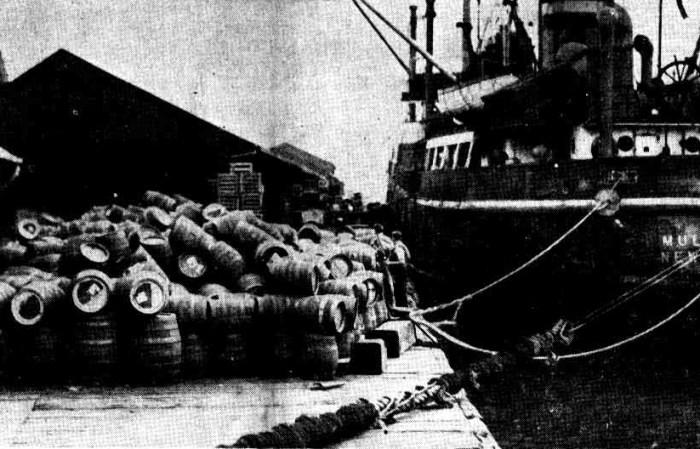 wharf barrels
