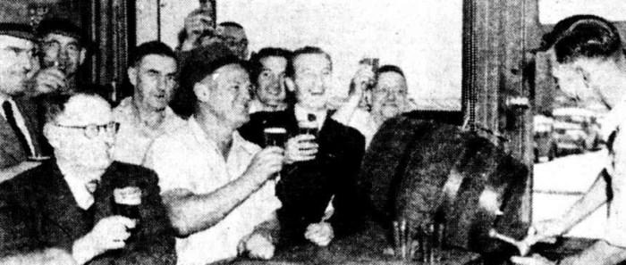 beer on