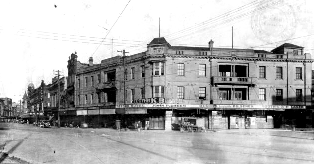 An early Newcastle hotel