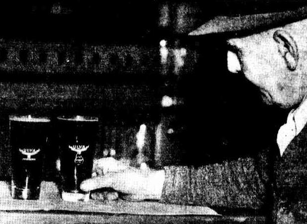 sydney beer glasses 1939