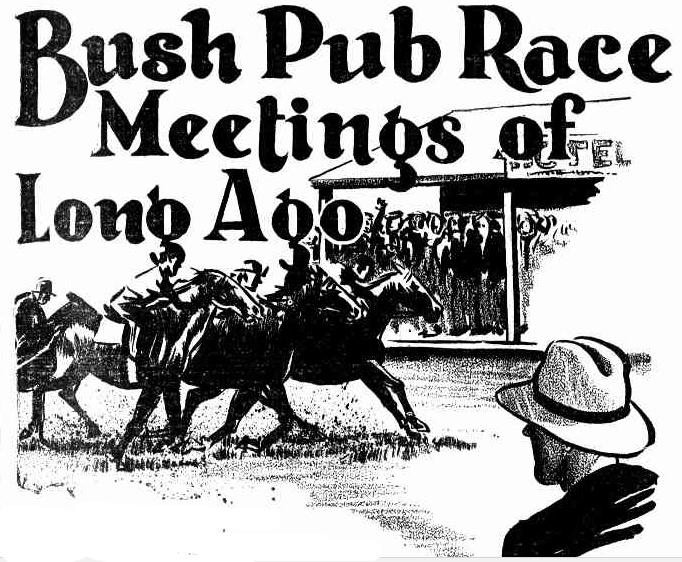 bush pub races