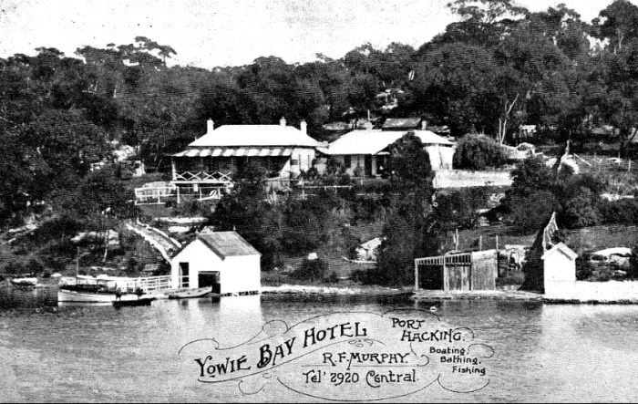 Yowie Bay Hotel Port Hacking
