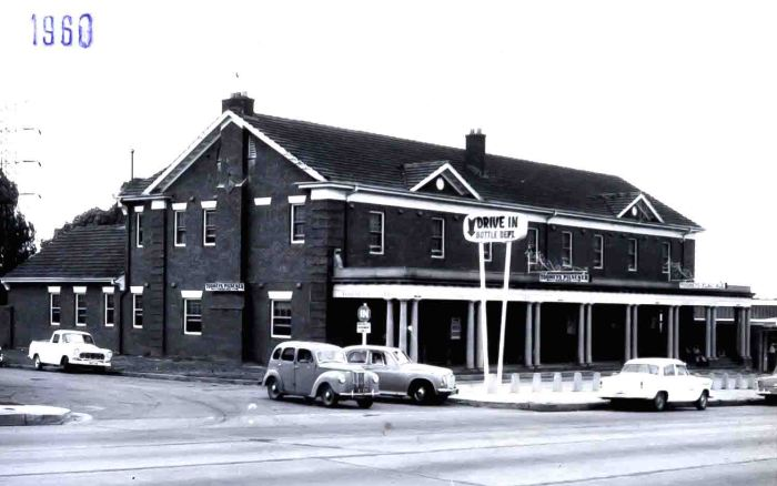 Wentworth Hotel Flemington 1960 small