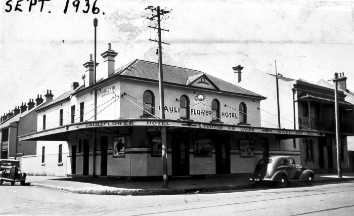 Cauliflower Hotel Waterloo 1936
