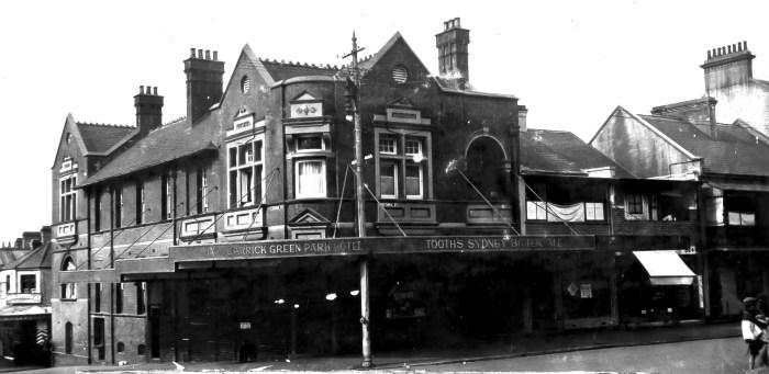 Green Park Hotel Darlinghurst 1930