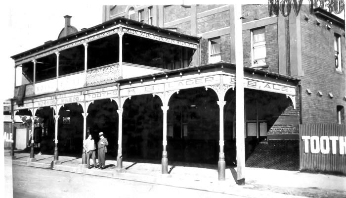 Royal Hotel Dungog 1930 ANU