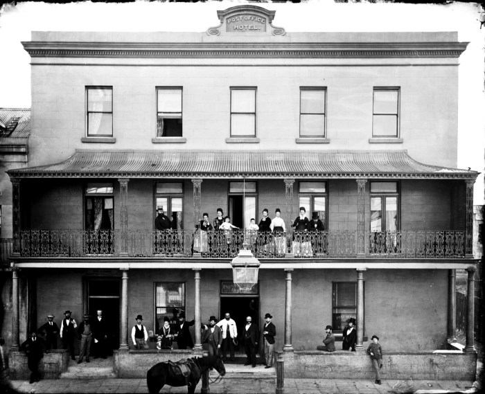 post office hotel york street sydney