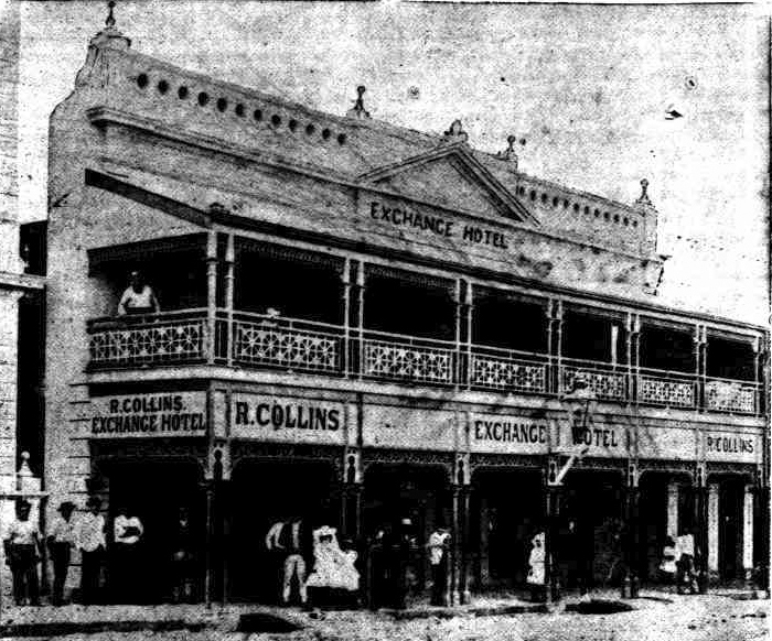 exchange hotel charters towers qld 1892