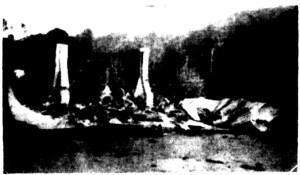 mcveighs hotel burnt