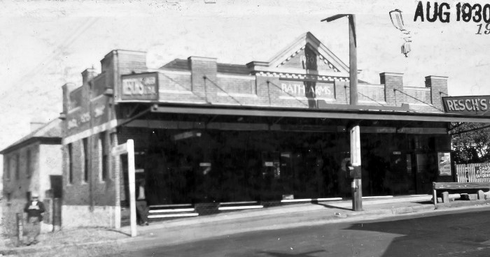 Bath Arms Hotel Burwood 1930 anu