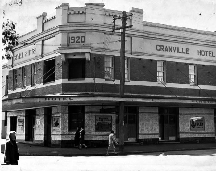 Granville Hotel NSW 1949 anu
