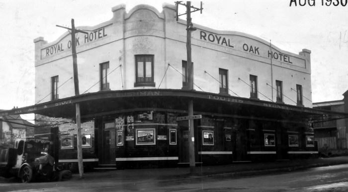 Royal Oak Hotel Parramatta 1930 anu