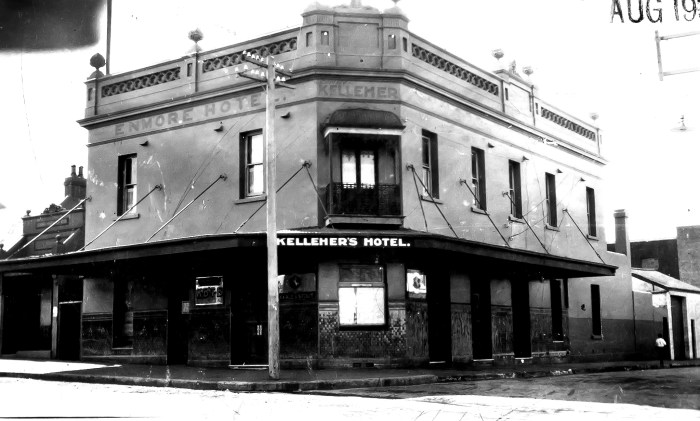Enmore Hotel Newtown 1930 anu