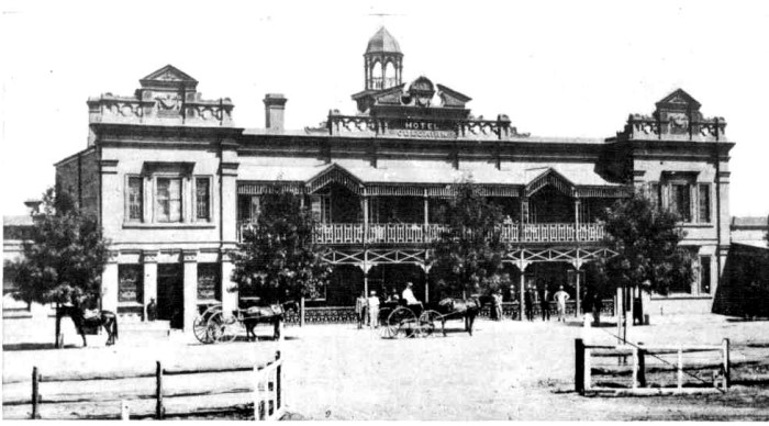 culcairn hotel 1911