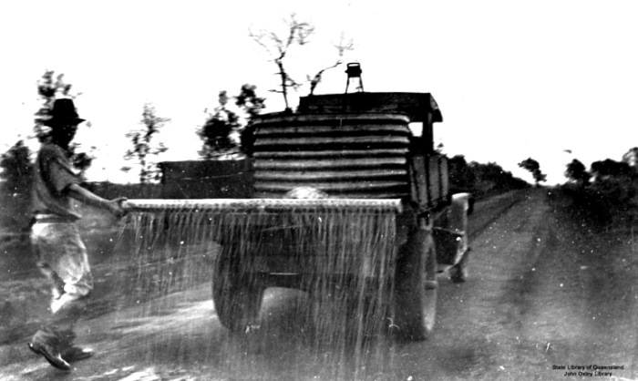 water truck qld 1920s