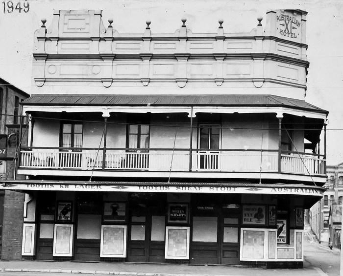 Australian Eleven Hotel 1949 Redfern ANU