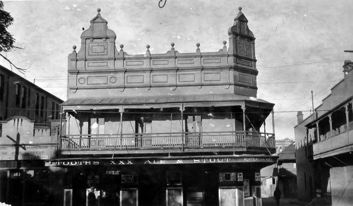 Australian Eleven Hotel Redfern 1930 ANU
