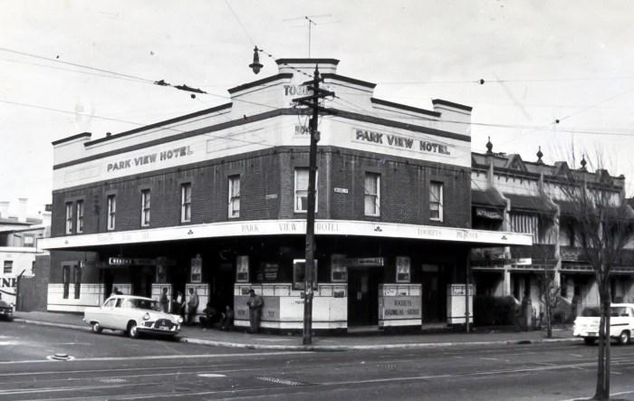 Park View Hotel Alexandria1970 ANU