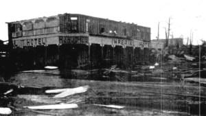 imperial hotel innisfail cyclone damage 1918
