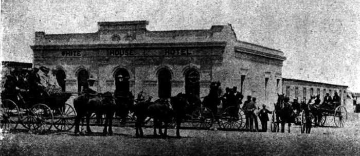 white house hotel menzies wa 1898