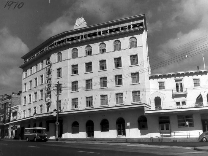 Astra Hotel Bondi 1970 ANU