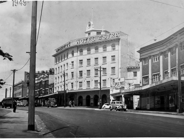 Astra Hotel Bondi NSW 1949 ANU