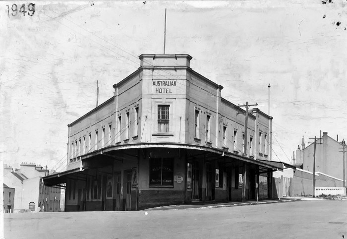 Australian Hotel The Rocks Sydney 1949 ANU