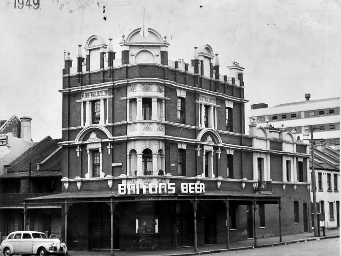 Australian Hotel Woolloomooloo 1949 ANU