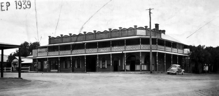 Railway Hotel Koorawatha NSW Sept 1939 ANU