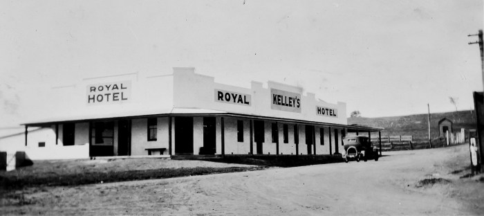 Royal Hotel Lyndhurst NSW 1926 ANU