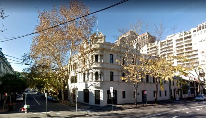 australian hotel woolloomooloo FORMER 2017 Google