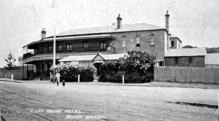 cliff house hotel bondi