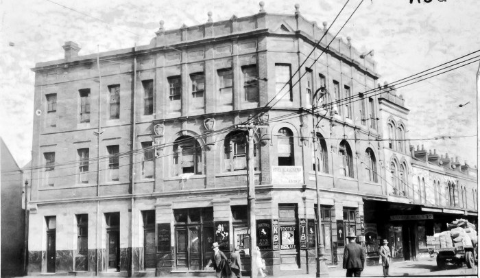Beauchamp Hotel Paddington NSW Aug 1930